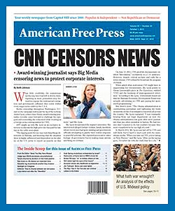 1-YEAR PRINT SUBSCRIPTION (U.S.) American Free Press, AFP, subscribe