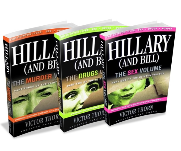 HILLARY (AND BILL) TRILOGY Book Deal