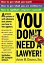 YOU DONT NEED A LAWYER! law, lawyer, court
